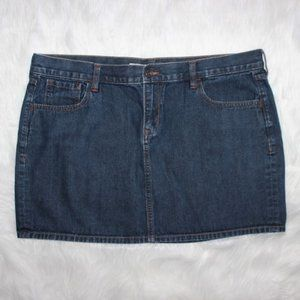 Old Navy Jean Skirt Size 16